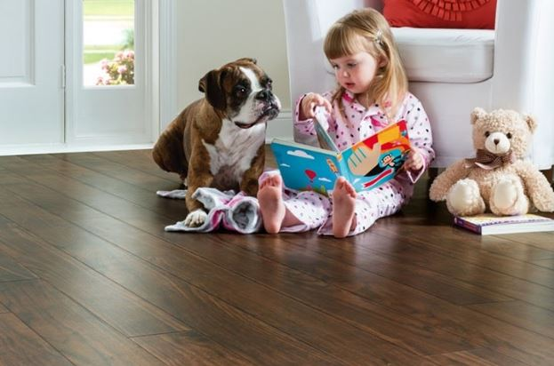 flooring material for homes with kids